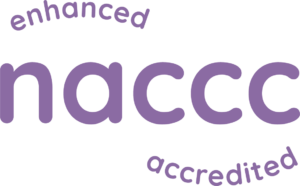 Enhanced Accredited Member of the National Association of Child Contact Centres (NACCC)